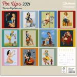 Dziewczyny-Pin-Ups-Girls-Kalendarz-Ścienny-2021-rok-Galeria-Plakatu